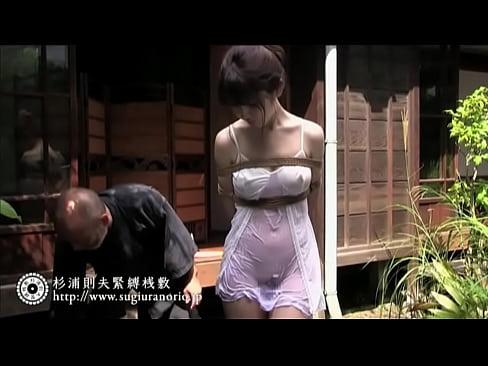 むっちりの人妻の緊縛視姦拘束エロ動画。【人妻動画】