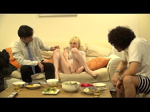 【素人寝取られ】ブロンドの素人白人奥様の寝取られプレイがエロい。【動画】