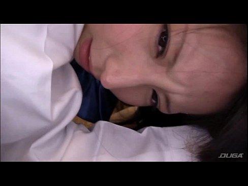 【板野有紀】黒髪パイパン美少女と制服ベロチュープレイがくっそ抜けるw...