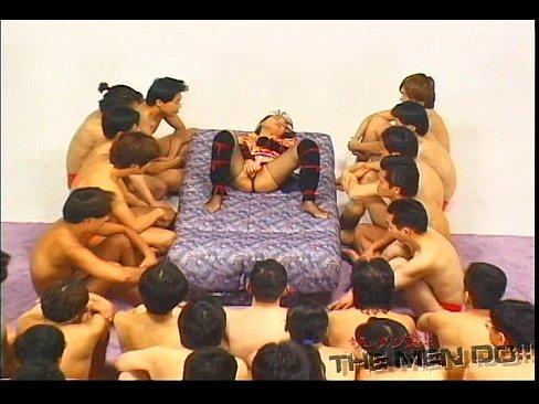 Bukkake festival 4 3/4 Japanese uncensored bukkake