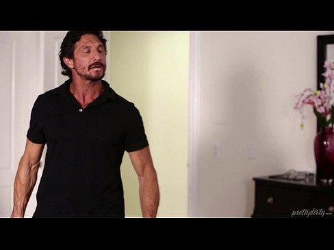 Alison Rey fucks her personal trainer, Tommy Gunn