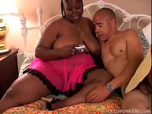 Beautiful black BBW MILF loves to fuck