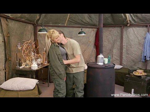 Retro Sex In The Army