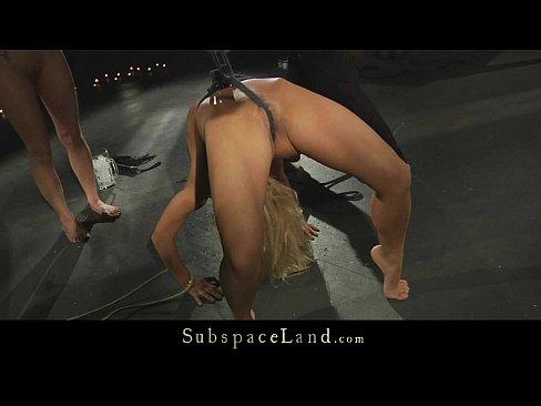Live BDSM in dark mansard