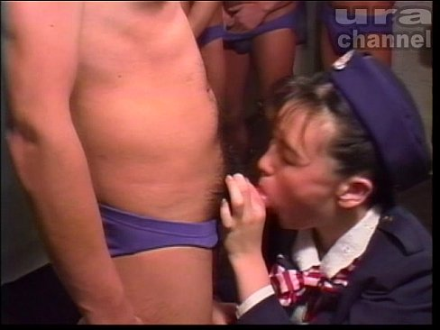 Shuttle Japan - ZB-05 - Bukkake Milkies, More Semen! 05 - Stewardess (uncensored)