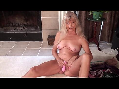 Skinny granny masturbated with dildo FullHD 1080p 60fps