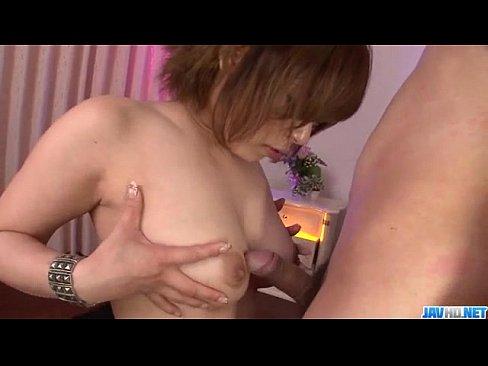 Ririsu Ayaka feels big cock in her tight holes