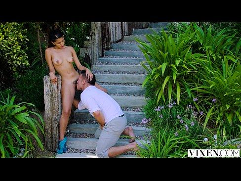 VIXEN Hot Latina teen fucks her Trainer