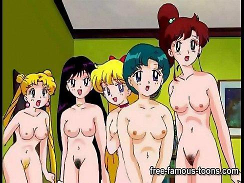 Sailormoon lesbian hentai