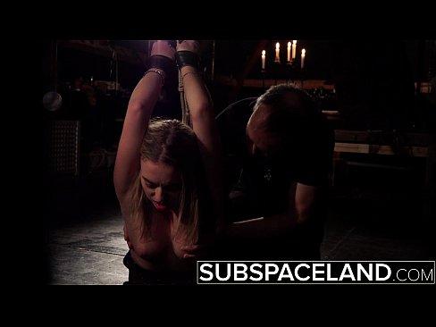 Hardcore BDSM spanking teen ass in punishment bondage fetish cumshot deepthroat