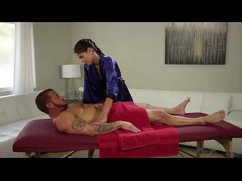 Married guy fucks the hot masseuse Katya Rodriguez