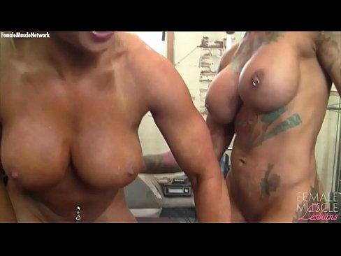 Lésbicas Bodybuilder