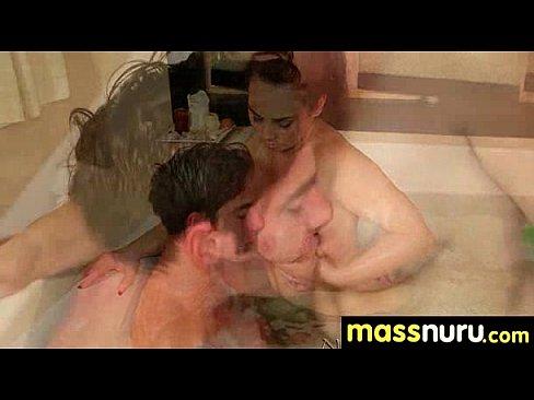 Nuru Massage Ends with a Hot Shower Fuck 10