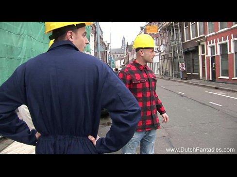 Vadia Holandesa Doida Em Amsterdam