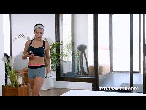 Flexible Teen Ally Breelsen Loves Yoga and DP