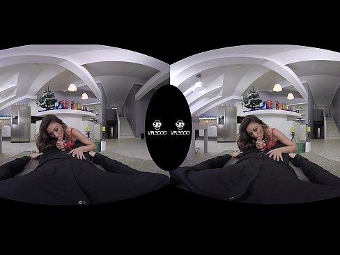 3000girls.com Ultra 4K VR Happy Holidays Santas lil' helper ft. Rosaline