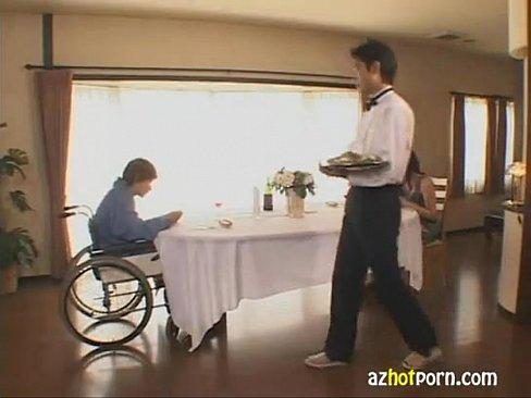 【酒井ちなみ】四十路高身長巨乳美熟女セレブ人妻は旦那が車椅子なのをいい...