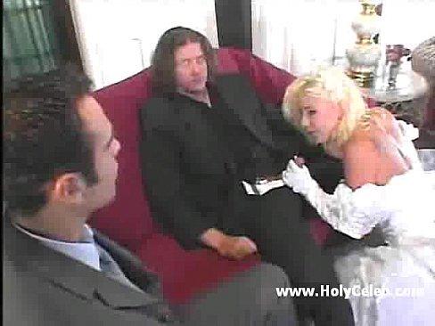 Партнёр жениха по бизнесу тоже захотел трахнуть невесту