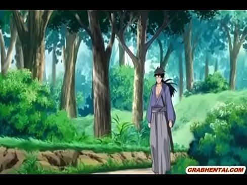 【アニメエロ動画】囚われ拷問された挙句2人からお口・おアソコを凌辱レイプされる美人娘剣士