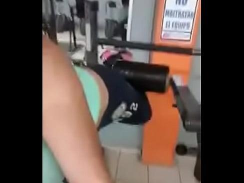 yo (Elizabeth Ponce) en el Gym