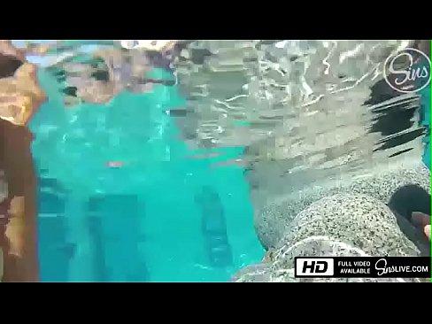 Sins Life - Johnny Sins Fucks Kissa Sins Underwater