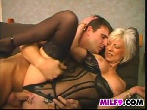 Busty mature slut Eva Delage gets fucked