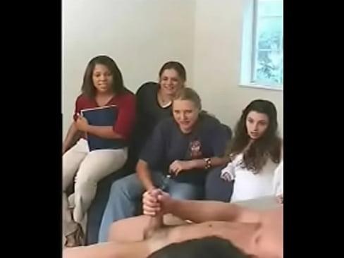 Spycam catches masturbation