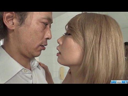 <モザ無>早川ルイ えろカワ細身GALとはげしく舌を絡ませ合い、チ○ポの隅々までナメさせる☆