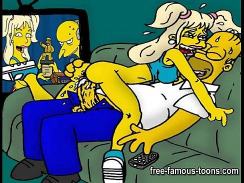Секс картинки аниме симсоны фото 433-907