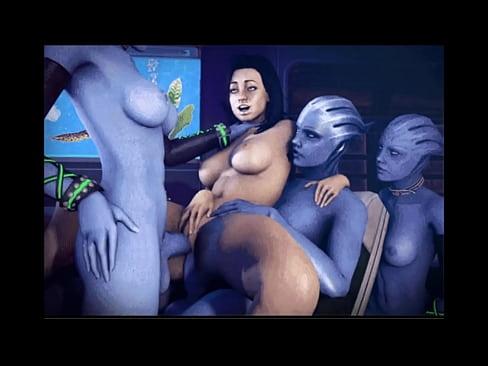 lesbian alien sex scene from mass effect game № 125589