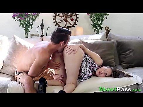 Girlfriends giving anal to boyfriends