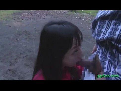 【JKロリ】ジャージ姿の田舎の女子生徒にお外でいたずら→挿入するエロおやじ