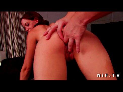 Анальный секс с рыжей французской школьницей
