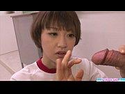 Picture Sexy Akina Hara blowjob in cute uniform