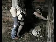 Picture Jeune femme blonde tres ronde en porte jarre...