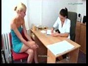 Студентки на осмотре у гинеколога видео