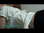 Picture Amateur czech chick lapdances and gets facia