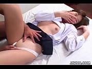 Picture Cute Japanese schoolgirl gets fucked hard un...