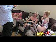 Picture FakeAgentUK 2 hot blonde friends lez up then...