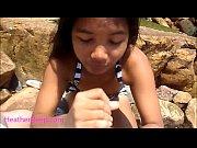 Picture Heather Deep public outdoor deepthroat cum s...
