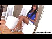 Picture Stunning ebony babe pov blowjob