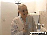 Picture Amateur girlfriend sucks and fucks in the ki...