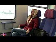 Picture Hot girl in train toilette