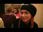 Picture Redhead slut in public toilet fuck