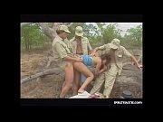 Picture Diana, Outdoor Ganbang in the Kruger Park