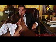 Picture Flashing redhead secretary seducing her boss