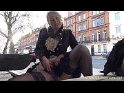 Picture Blonde amateur exhibitionist Amber West upsk...