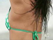 brunette beach nude posing naked news