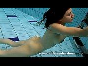 Picture Brunette Kristy stripping underwater