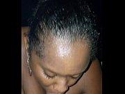 Picture Black stepsister sloppy blowjob